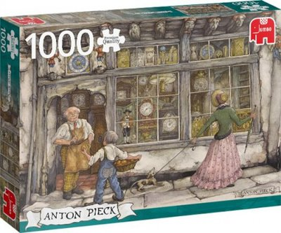 Jumbo Puzzel Anton Pieck - The Clock Shop