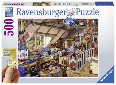 Ravensburger Puzzel Oma's Zolder