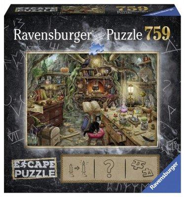Ravensburger Escpae Puzzel 3 De Heksenkeuken