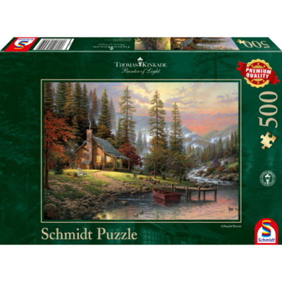 Schmidt Puzzel A Peaceful Retreat