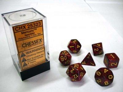 Chessex Dice Set Mercury Speckled CHX 25323