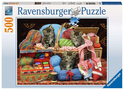 Ravensburger Puzzel Wollige Katjes