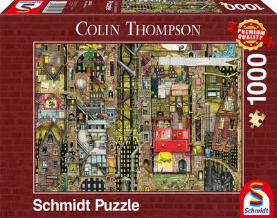 Schmidt Puzzel Fantastic Townscape