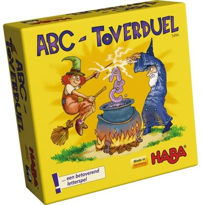 ABC Toverduel HABA Supermini Spel