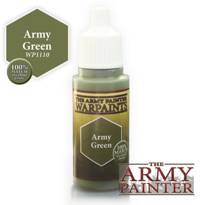 The Army Painter Army Green Acrylic WP1110