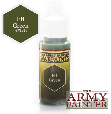 The Army Painter Elf Green Acrylic WP1420
