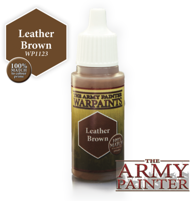 The Army Painter Leather Brown Acrylic WP1123