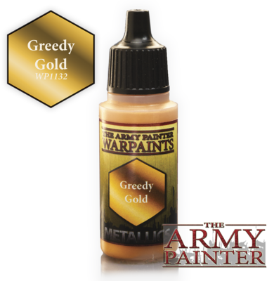 The Army Painter Greedy Gold Metallic WP1132