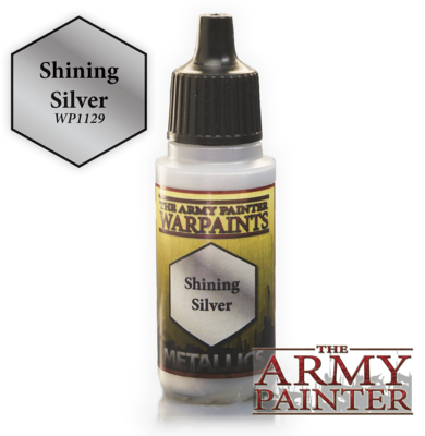 The Army Painter Shining Silver Metallic WP1129