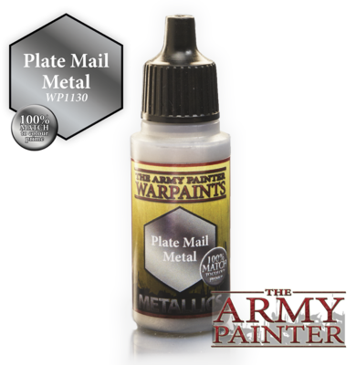 The Army Painter Plate Mail Metal Metallic WP1130