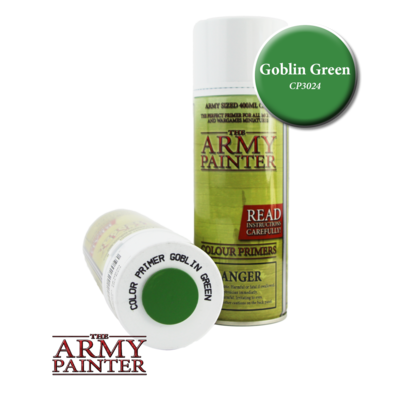 THE ARMY PAINTER GOBLIN GREEN PRIMER CP3024