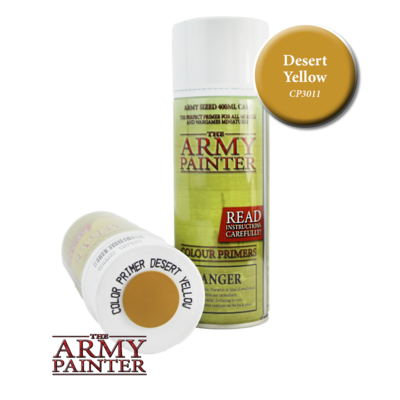 THE ARMY PAINTER DESERT YELLOW PRIMER CP3011