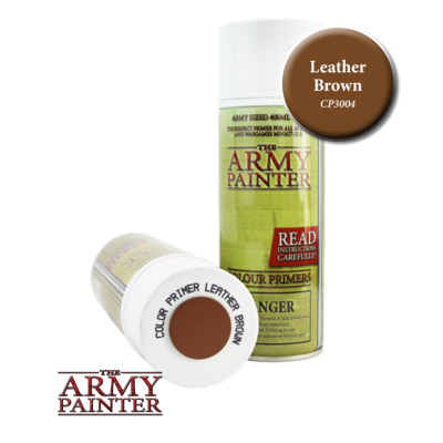 THE ARMY PAINTER LEATHER BROWN PRIMER CP3004