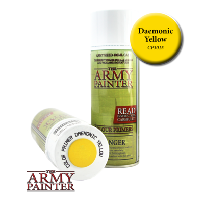 THE ARMY PAINTER DAEMONIC YELLOW PRIMER CP3015