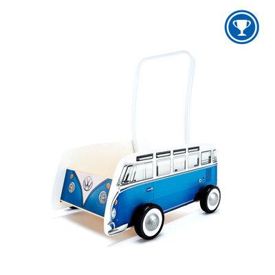 Hape Classical Bus T1 Walker, Blue