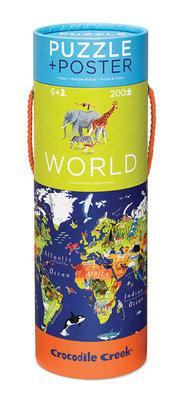 Crocodile Creek Puzzel en Poster Wereld