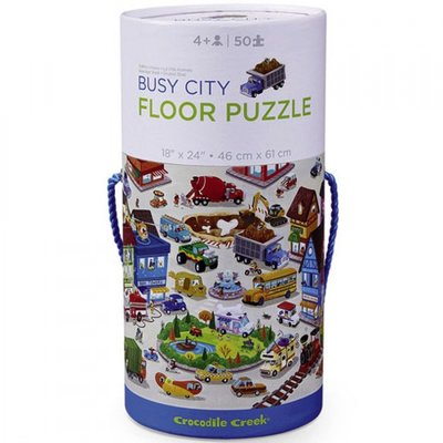 Crocodile Creek Tube Puzzel - Drukke Stad