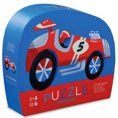 Crocodile Creek Puzzel Racewagen