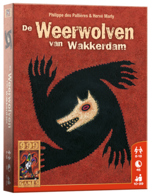 De Weerwolven van Wakkerdam 999-Games