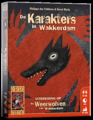 De Karakters van Wakkerdam 999-Games