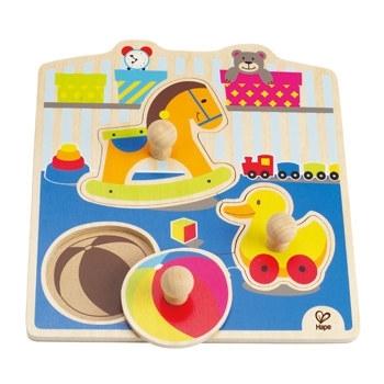 Hape Speelgoed Knopjespuzzel