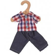 BIGJIGS kledingset broek en blouse ( maat S)