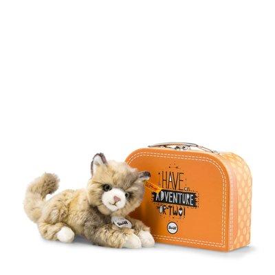 Steiff Lucy Cat in Suitcase 099472