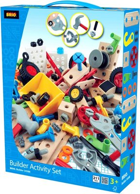 Brio Builder Activity set 210-delig