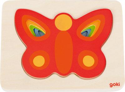 Goki Puzzel Vlinders