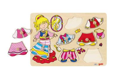Goki Aankleedpuzzel prinses
