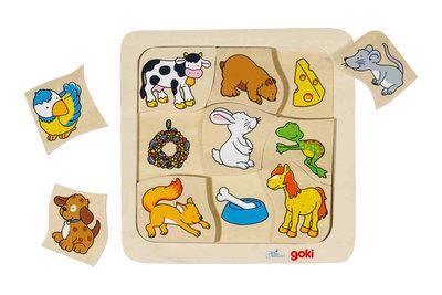 Goki Puzzel Wie Eet Wat