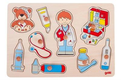 Goki Puzzel Naar de Dokter
