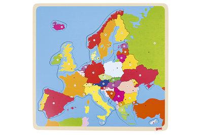 Goki Puzzel Europa