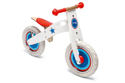 Scratch Balance Bike Large Sterren