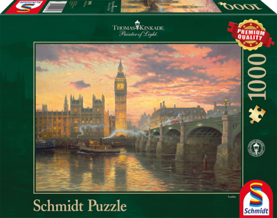 Schmidt Puzzel Evening Mood in London