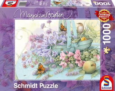 Schmidt Puzzel Bloemenmand