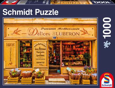 Schmidt Puzzel Delicatessen uit de Provence