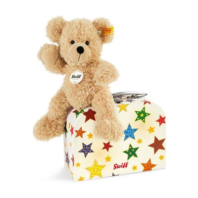Steiff Fynn Teddy Bear in Suitcase 111730