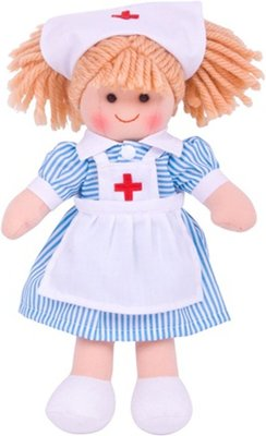 Bigjigs pop Nurse Nancy
