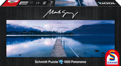 Schmidt Puzzel Lake Wakatipu New Zealand