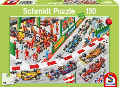 Schmidt Puzzel Tijdens de Auto Race