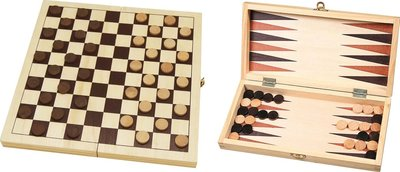 Dam-   Backgammon klapcassette