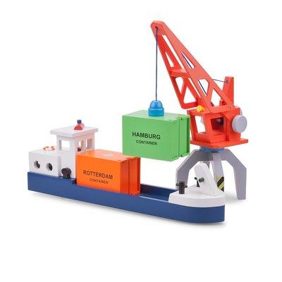 New Classic Toys met 2 containers havenlijn