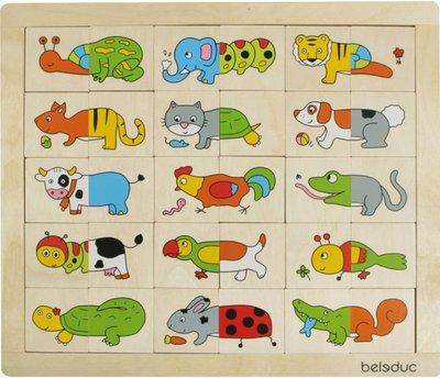 Beleduc Match & Mix dieren