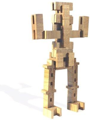 Luco houten bouwstenen