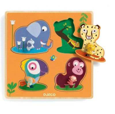 Djeco Puzzle Mamijungle