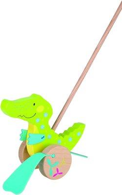 Goki stokroller krokodil