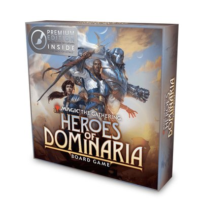 MTG Heroes of Dominaria Board Game Premium Edition