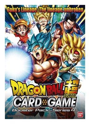 Dragon Ball SCG S4 Colossal Warfare BO