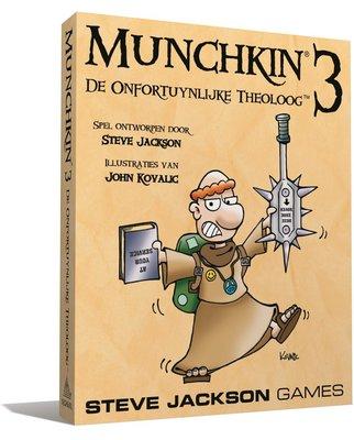 Munchkin 3 NL - De Onfortuynlijke Theoloog